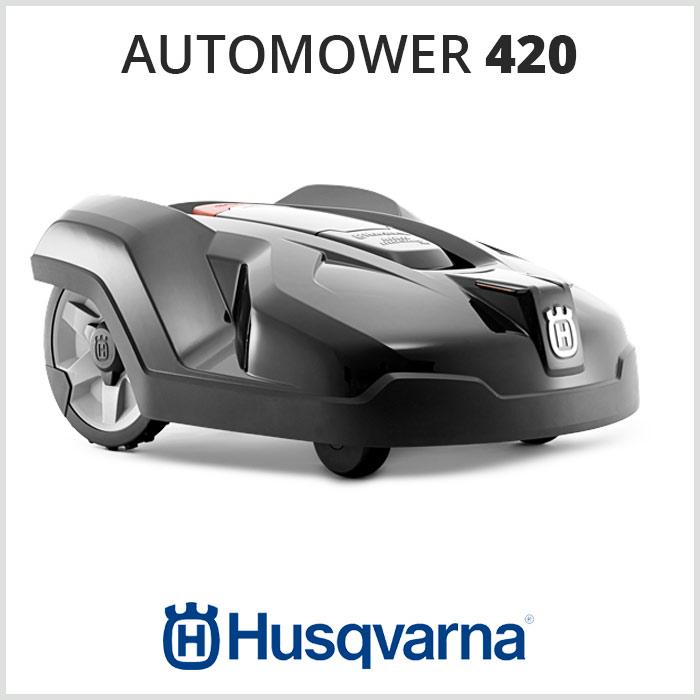 Robot tagliaerba HUSQVARNA AUTOMOWER 420