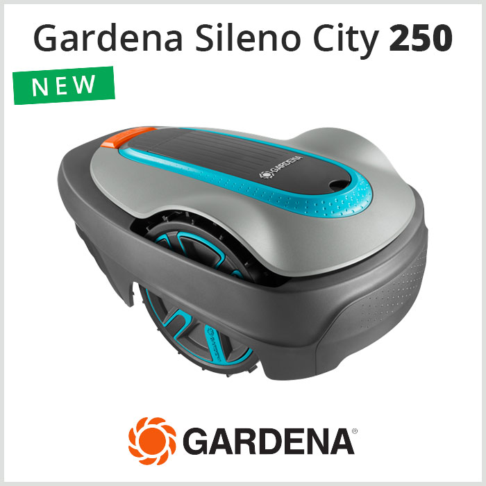 Robot Tagliaerba Gardena Sileno City 250